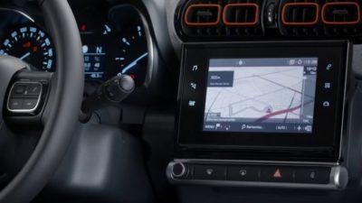 Citroën C3 Aircross - navigation par satellite