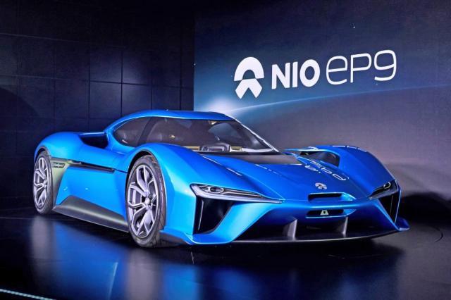 NIO EP9 parmi les voitures électriques les plus rapides du monde