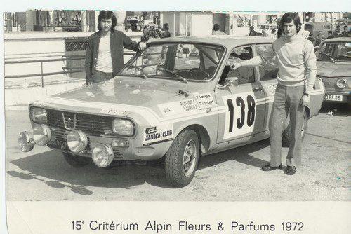 Pierre Lartigue au critérium Alpin