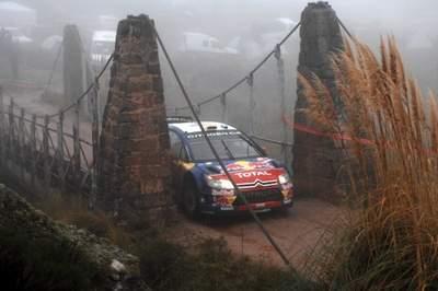 Rallye d'Argentine 2008, Dani Sordo doit se contenter d'une quatrième place toujours un peu frustrante