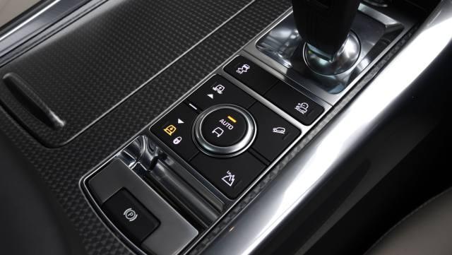 Range Rover sport control de la suspension
