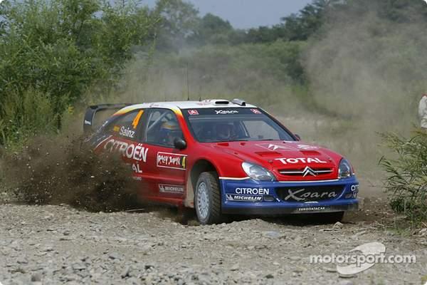 Carlos Sainz complète la dream team Citroen en 2003