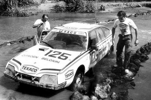 jacky Ickx et Claude Brasseur au Dakar 1981