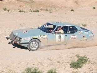 Deux citroen SM se classent 5° et 6° sur le rallye du Bandama 1973
