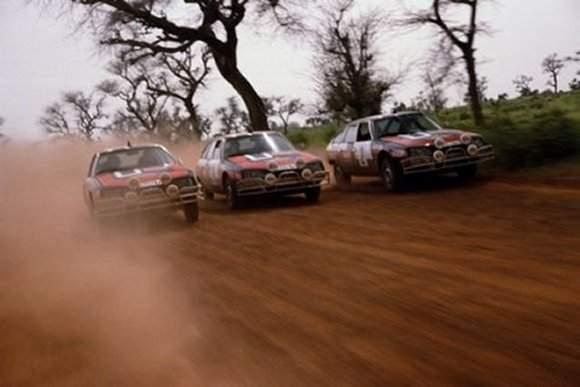 La Citroën CX va montrer tout son potentiel sur les pistes africaines