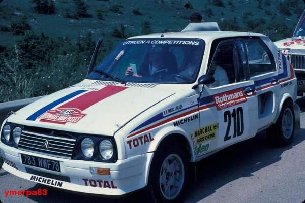 Philippe Wmbergue s'impose avec un proto Visa 4x4 en catégorie expérimentale du rallye des 1000 pistes 1983. Cette victoire débouchera sur la fabrication d'une Visa 1000 Pistes