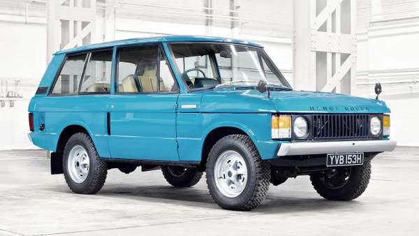 Cinquantième anniversaire du Range Rover