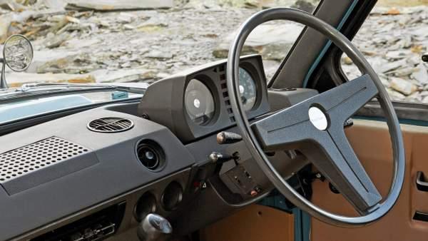 Intérieur du Range Rover original
