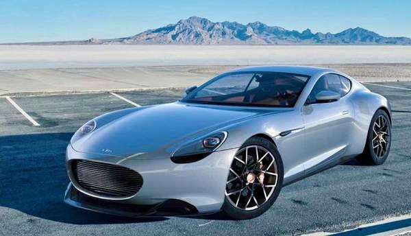 Esquisse préliminaire du Mark Zero | Piech Automotive
