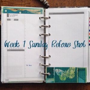 Week 1 Sunday Before Shot