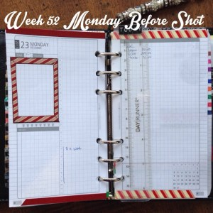 Week 52 Monday Before Shot
