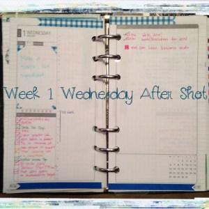 Week 1 Wednesday After Shot