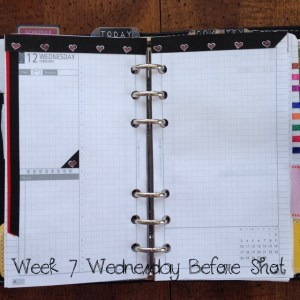 Week 7 Wednesday Before Shot