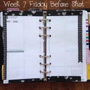 Week 7 Friday Before Shot