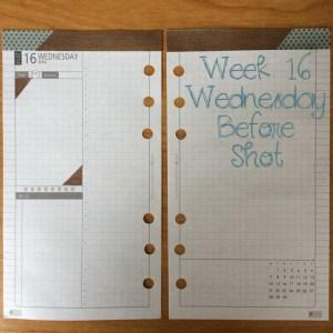 Week 16 Wednesday Before Shot