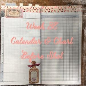 Week 38 Calendar & Chart Before Shot