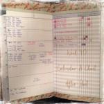 Week 40 Calendar & Chart After Shot
