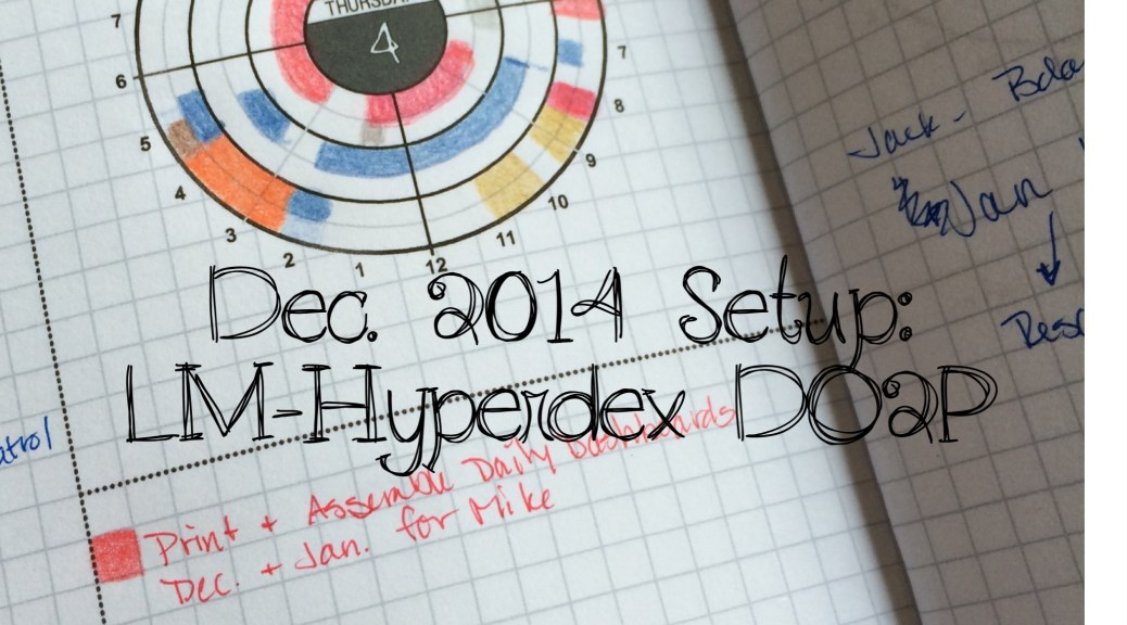 LM-Hyperdex Planner Pages