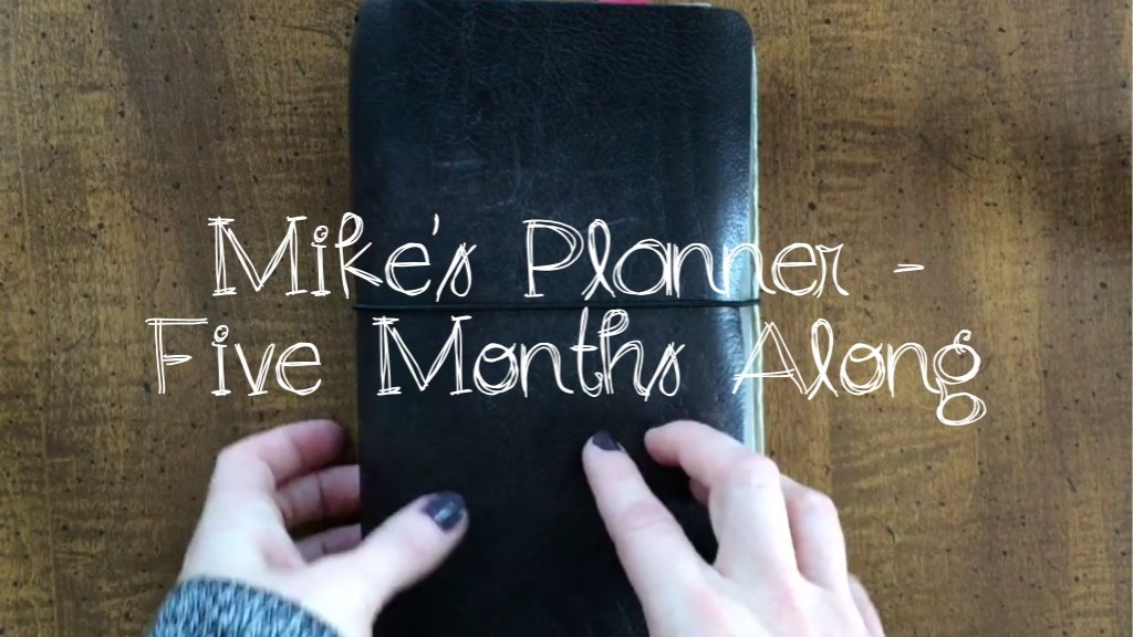 Mike's Planner - Five Months Along