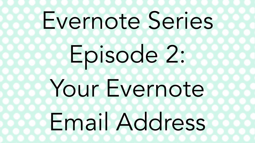 EN Series Ep 2 - EN Email Address