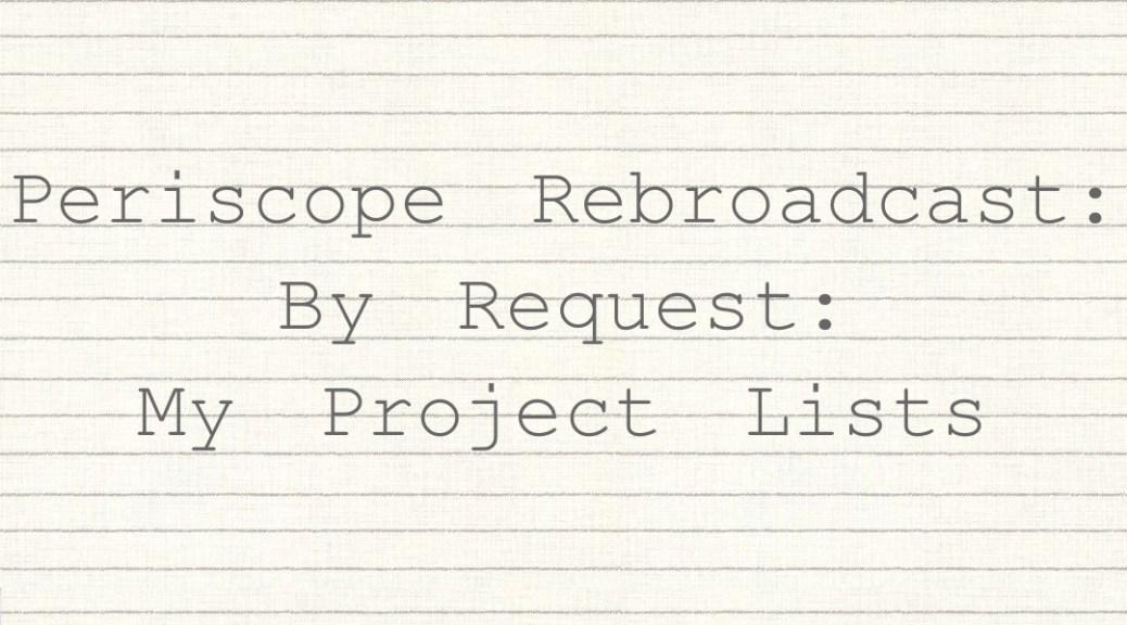 Project Lists FI