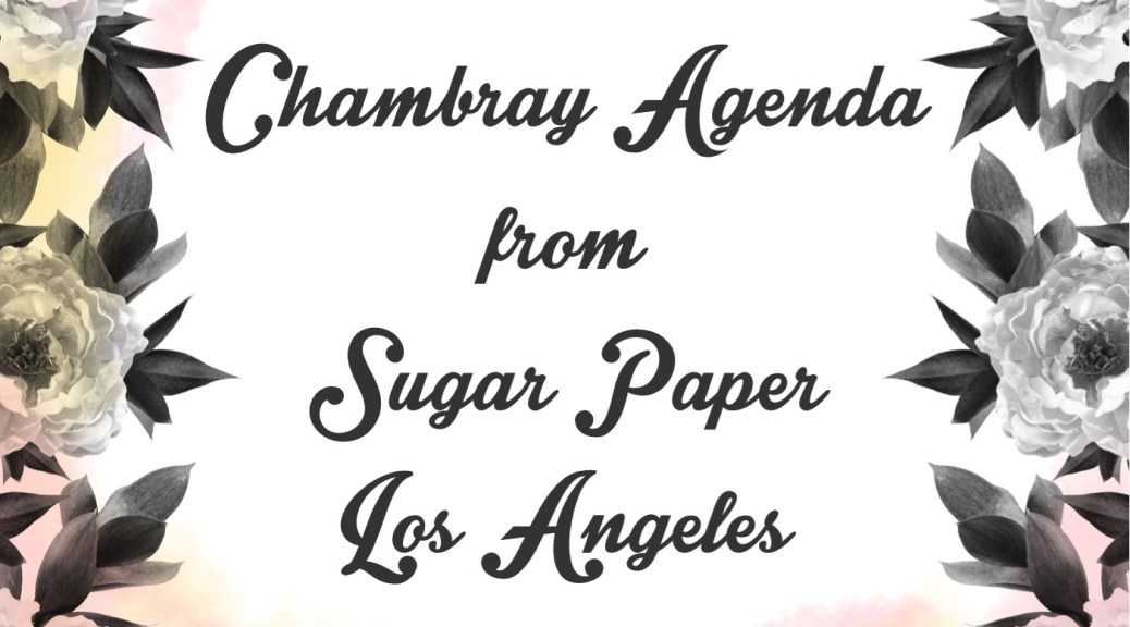 Sugar Paper LA Chambray FI