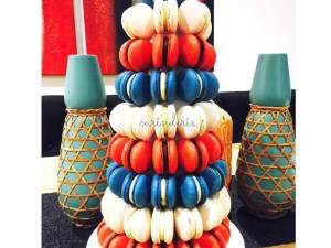 Macaron tower – custom colours (priced per tower)
