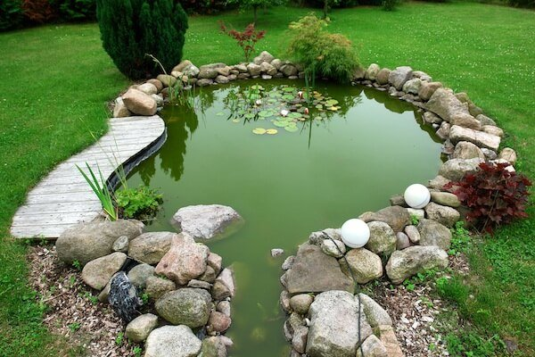 Around Small Pond Ideas Landscaping