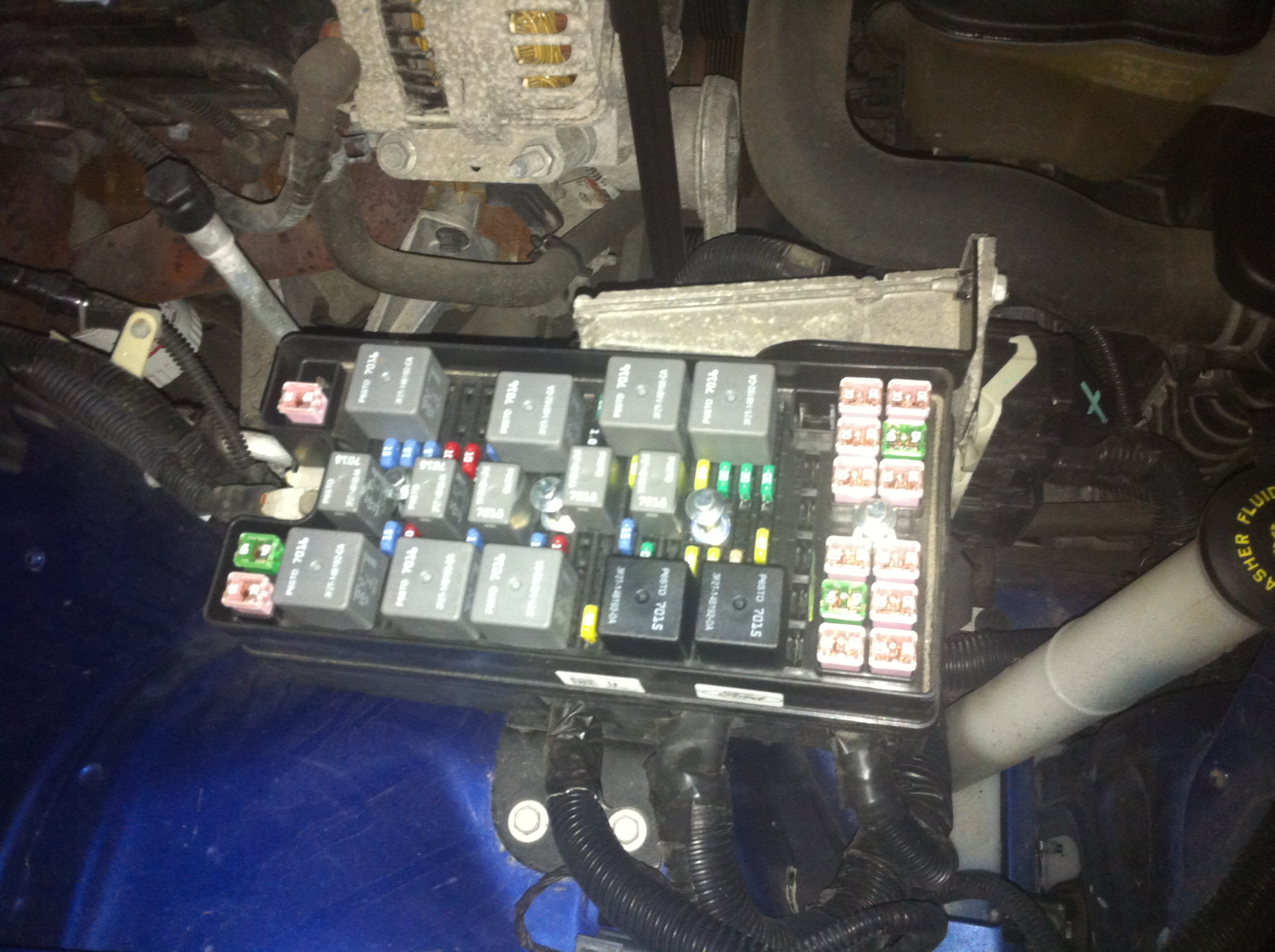 2011 Ford Mustang Fuse Box Diagram Car Instructions 187 How To Unlock My Trunk On My 2007 Ford