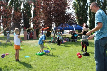 Circus Playshop for Family Events