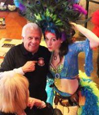Showgirl Photo Op in Calgary