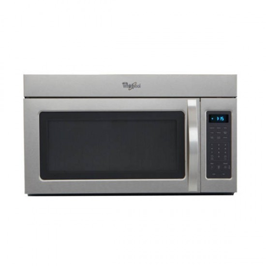 1 7 cu ft over the range microwave in stainless steel whirlpool wmh31017as