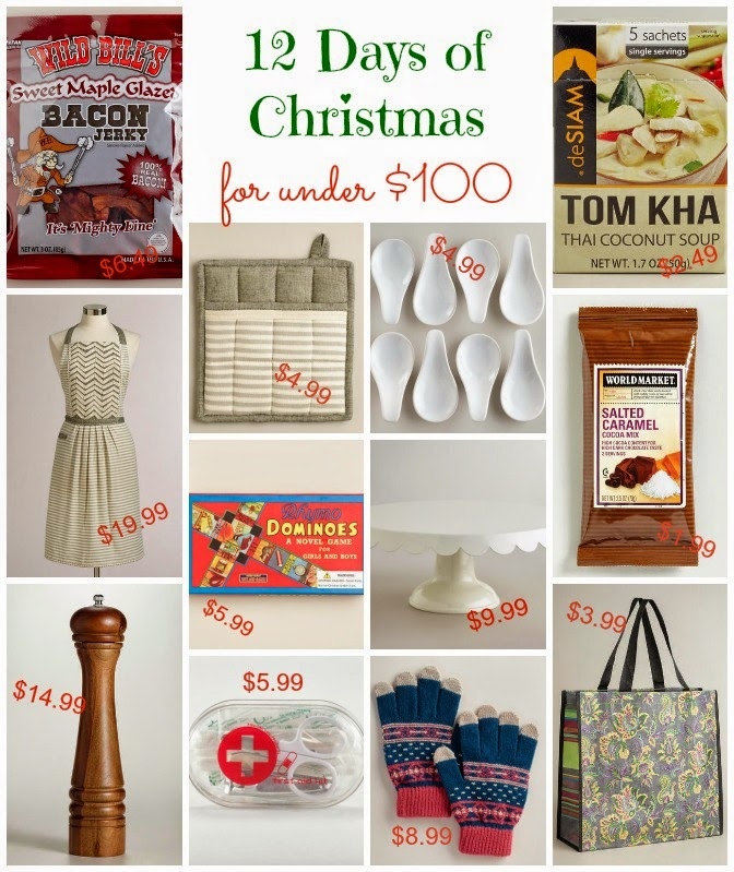Cute gift ideas for 12 days of christmas