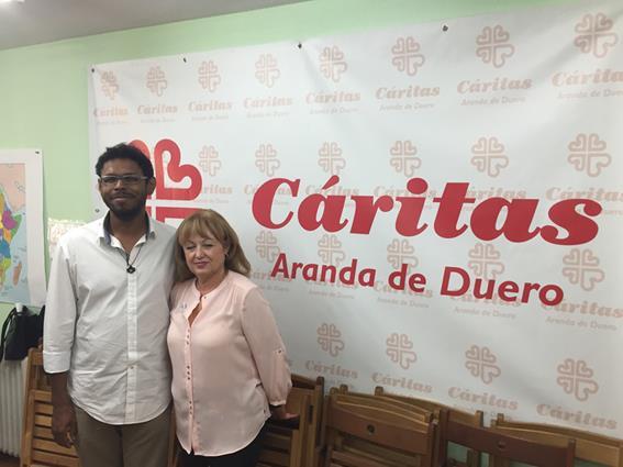 Cambio de delegado y presidenta en Aranda