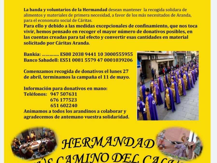 Pasacalles solidario en Aranda