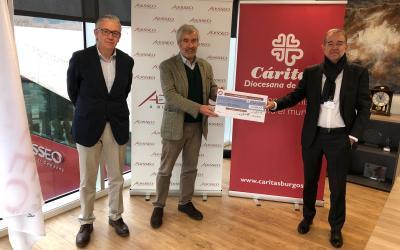 Adisseo España dona 2.000 € a Cáritas Burgos