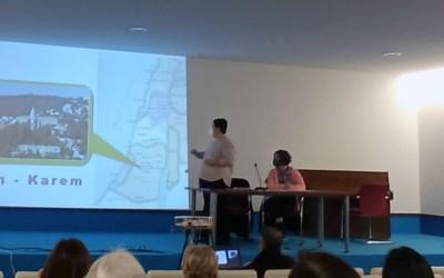 Presentación de Ain Karem en la parroquia de San Josemaría