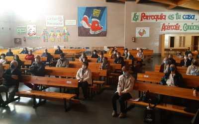 Encuentro de voluntarios en Gamonal