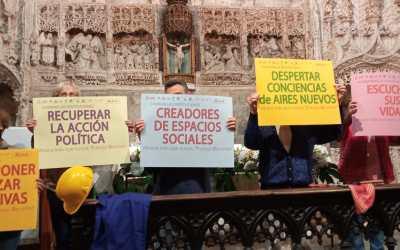 Imágenes de la Jornada por el Trabajo Decente en Burgos y Miranda