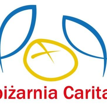 Spiżarnia Caritas pełna żywności