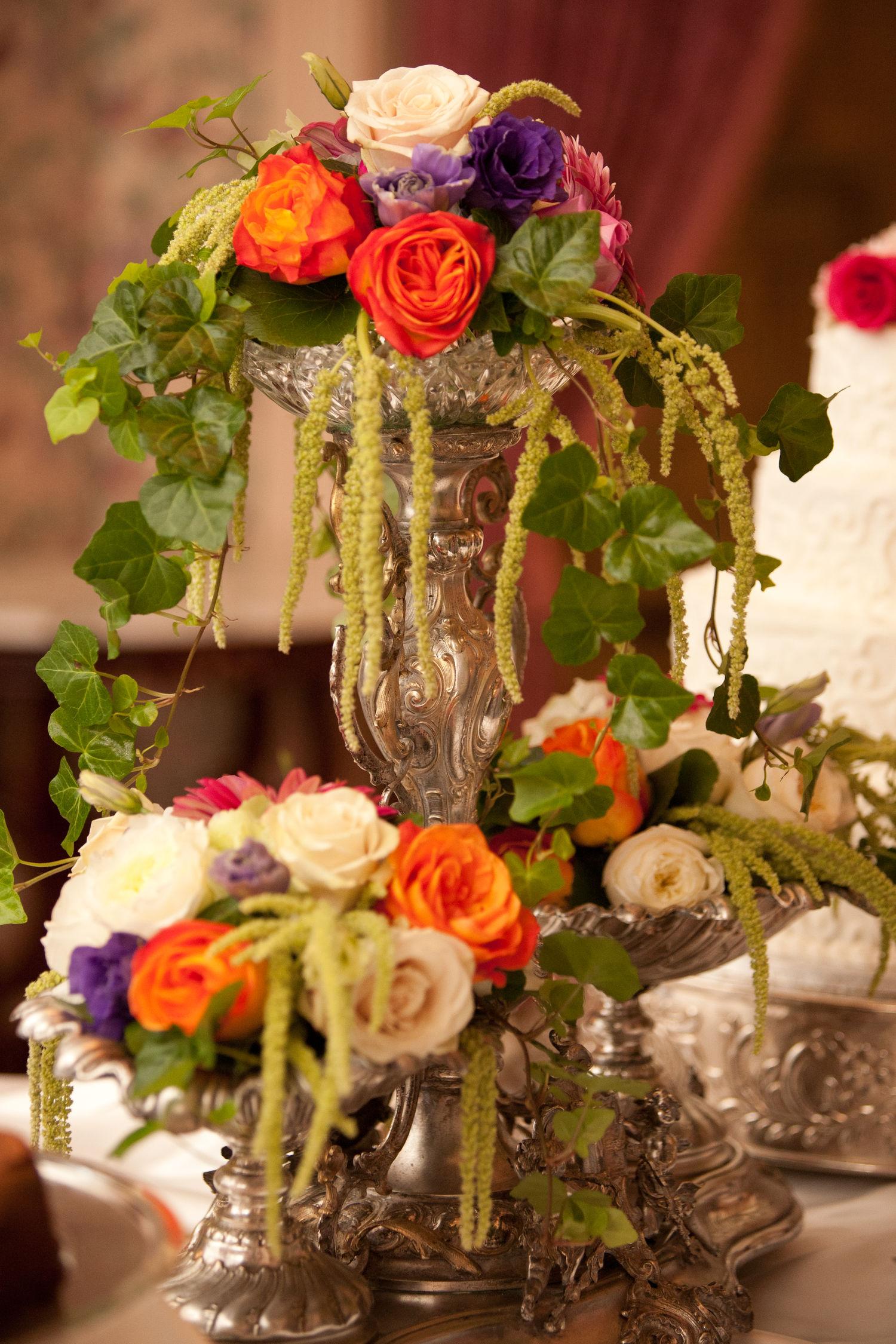 Wedding Reception Flowers centerpieces Decorations Carithers Florist Atlanta