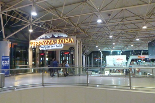 Returning a car hire to Rome Fiumicino Airport
