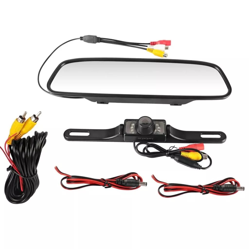 leekooluu cmos reverse rear view camera review