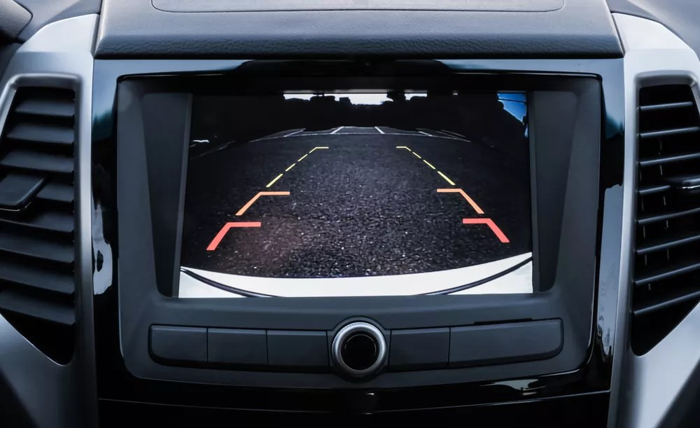 how to use backup camera lines