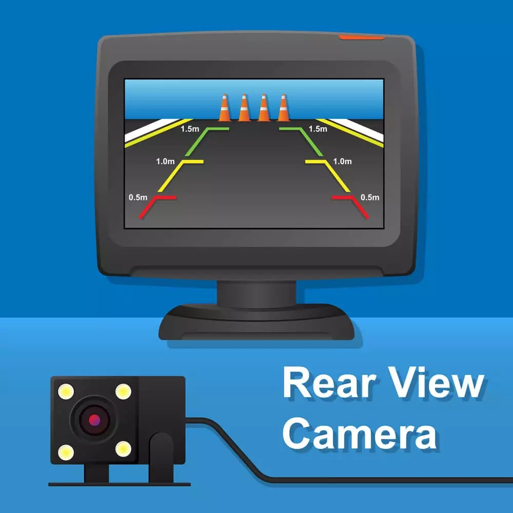 how to install backup camera on car