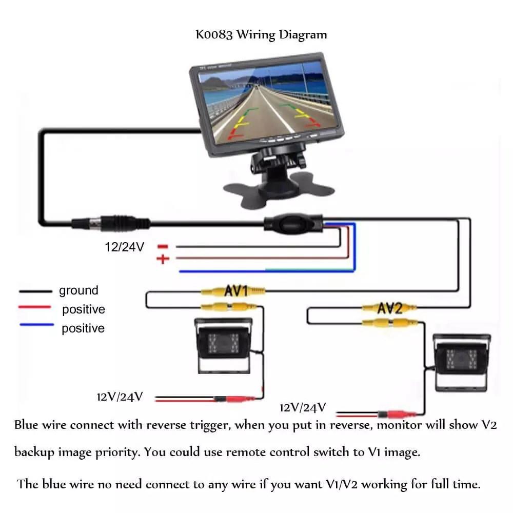 backup camera installation guide how to do installation rh carjokers com rear view mirror reverse camera wiring diagram caravan rear view camera wiring diagram