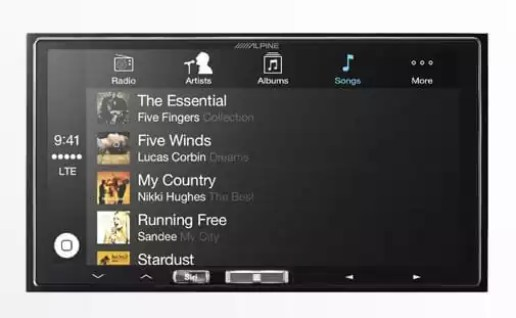 alpine ilx-007 wireless carplay