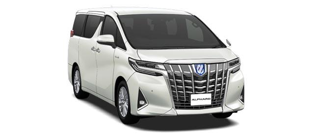 all new alphard hybrid grand avanza 2019 brand toyota for sale japanese cars exporter steel blonde metallic white pearl crystal shine