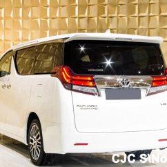 All New Alphard 2018 Camry Hybrid 2019 Brand Left Hand Toyota White For Sale Stock No 64173
