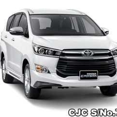All New Kijang Innova 2019 Toyota Yaris Trd Harga Crysta White Pearl Crystal For Sale Stock No 73263